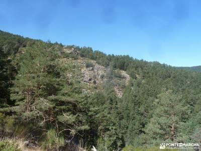 Pesquerías Reales-Valsaín,Río Eresma;paginas de viaje parque natural de liencres pueblos serrania